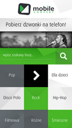 Ringtones MP3 - screen